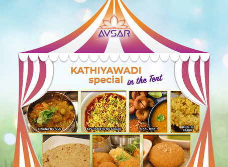 Kathiyawadi Special Weekend - In the Tent