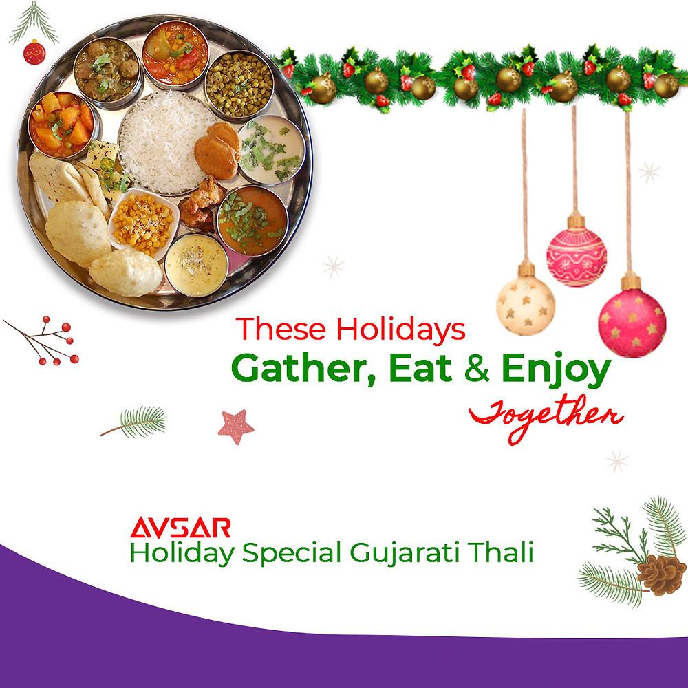 Holiday Special Gujarati Thali