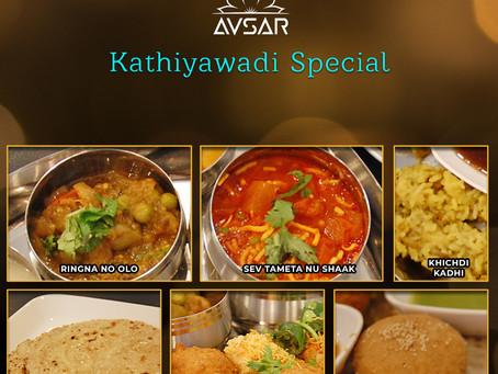 Weekend Special - Kathiywadi Thali
