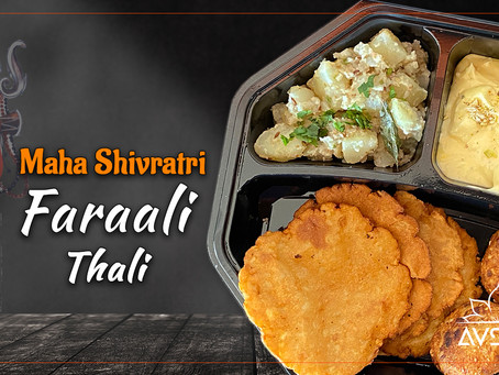 Maha Shivratri Faraali Thali