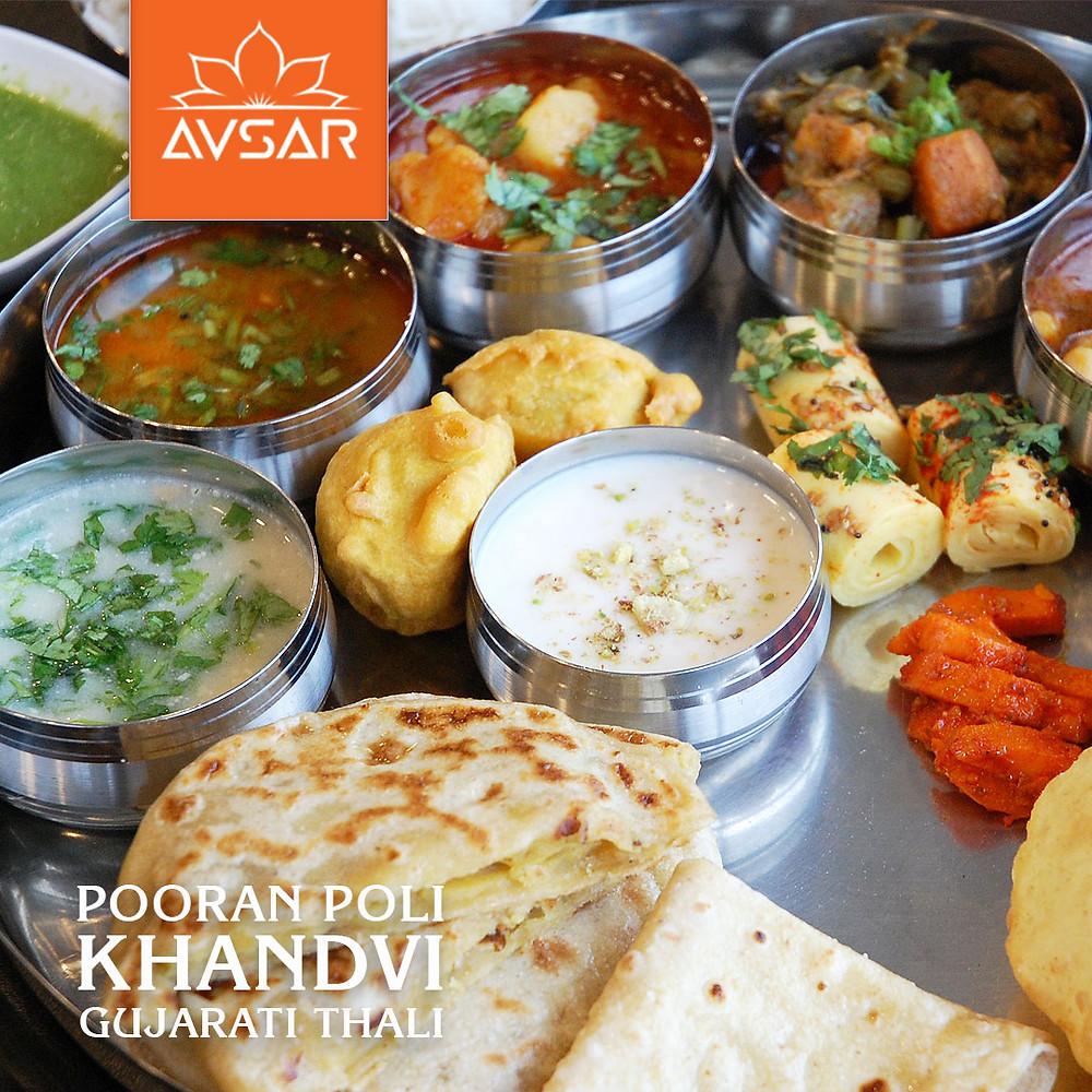 Avsar Mississauga's Royal Gujarati Thali