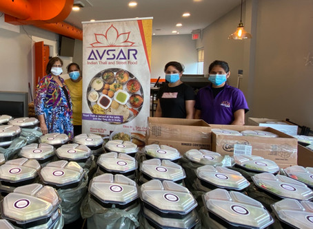 Avsar Donates 200 Meals to Trillium Health