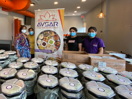 Avsar Donates 200 Meals to Trillium Health