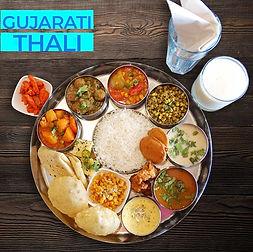 Vegetarian Gujarati Thali