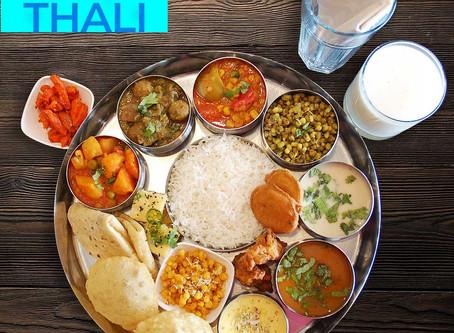 Thali Menu for weekend - Oct 17-18