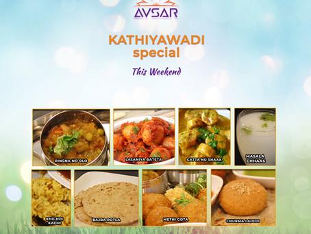 Kathiyawadi Special Thali - Aug 29, 30