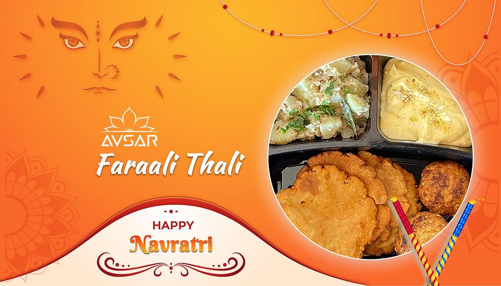 Faraali Meal, Faraali Thali, Upvas Thali, Vrat ki Thali