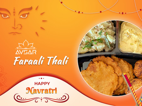 Navratri Special Faraali Thali - Avsar