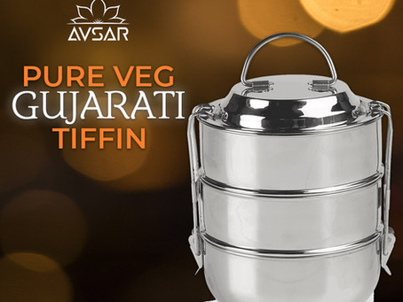 Avsar launches Gujarati Tiffin Service
