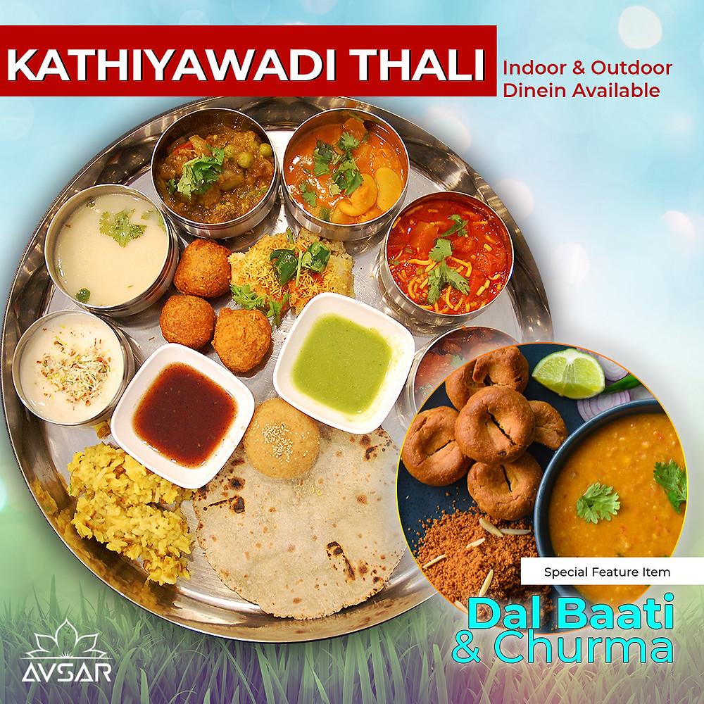 Avsar's Kathiyawadi Thali in Toronto