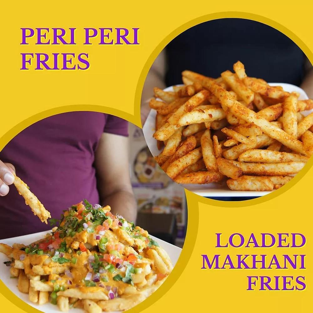 Peri Peri Fries, Makhani Fries