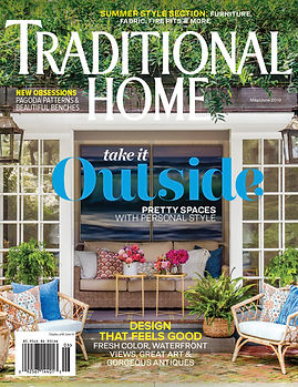 January 2019 Traditional Home cover