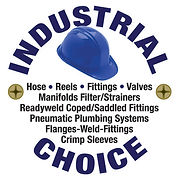 Industrial Choice Logo Round Dark Blue L