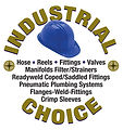 Industrial Choice Logo Round Gold with R