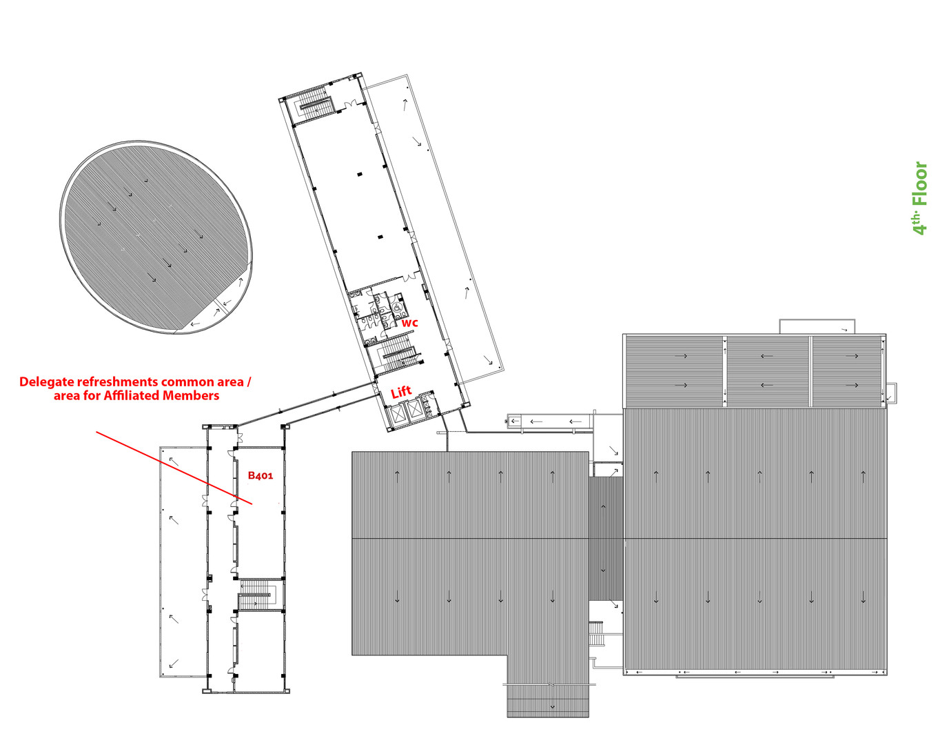 4th  Floor Room No Final (Layered plans)