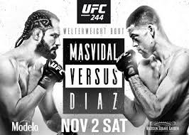 UFC 244 WAGERS