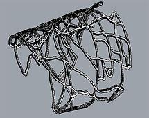 Map cuff rhino drawing
