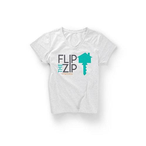 Flip the Zip- Signature Tee
