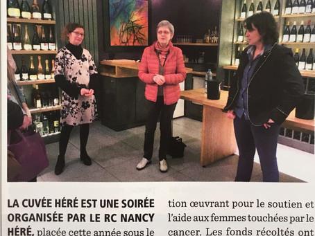 La Cuvée Héré dans le magazine Le Rotarien.