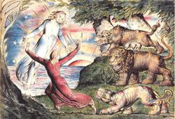 William Blake Exhibition in Victoria