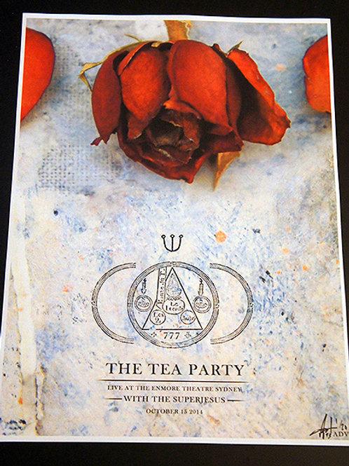 The Tea Party - Sydney Alternate Show Poster 2014