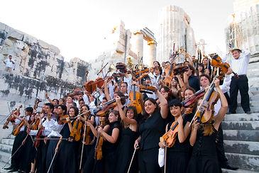 Meandros, Meandros Festivali, Antik tiyatroda klasik müzik, Apollon Tapınağı, Ulusal Gençlik Senfoni Orkestrası, Didim, Başak Kamacı, Meandros Kültür Sanat ve Turizm Derneği, festival, Didim Belediyesi