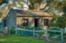 Old stone cottage Werribee Mansion Preci