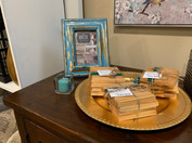 Coasters and Frame