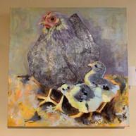 Chicken Painting