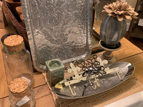 Silver Display Trays