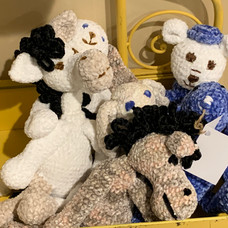 Assorted Soft Plush Animals