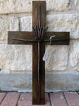 Wire Crown Cross