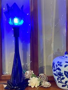 Blue Fire Light Lamp