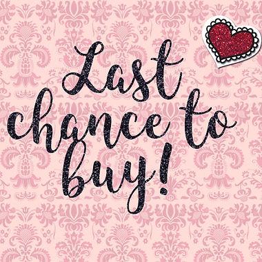 Last Chance Sales Items