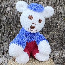 Red White and Blue Bear