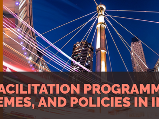 IP FACILITATION PROGRAMMES, SCHEMES, AND POLICIES IN INDIA
