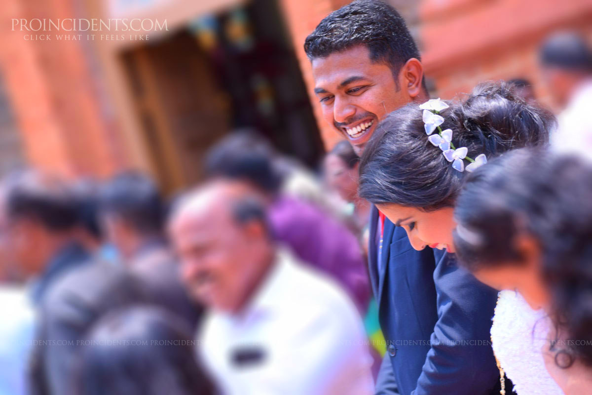 Nagercoil Christian Candid Wedding Photography