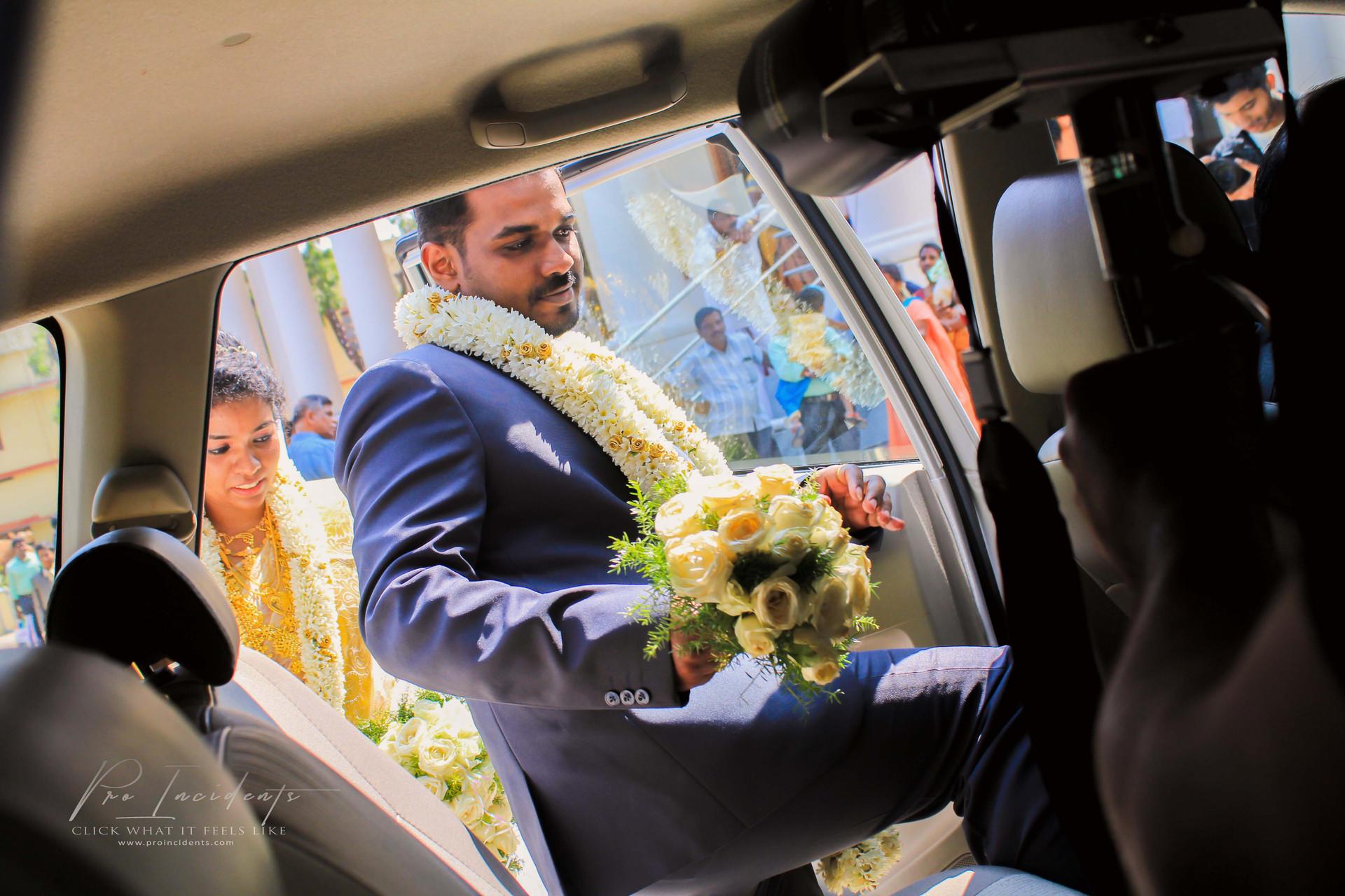 Groom Bride CSI Christian wedding candid moments photos