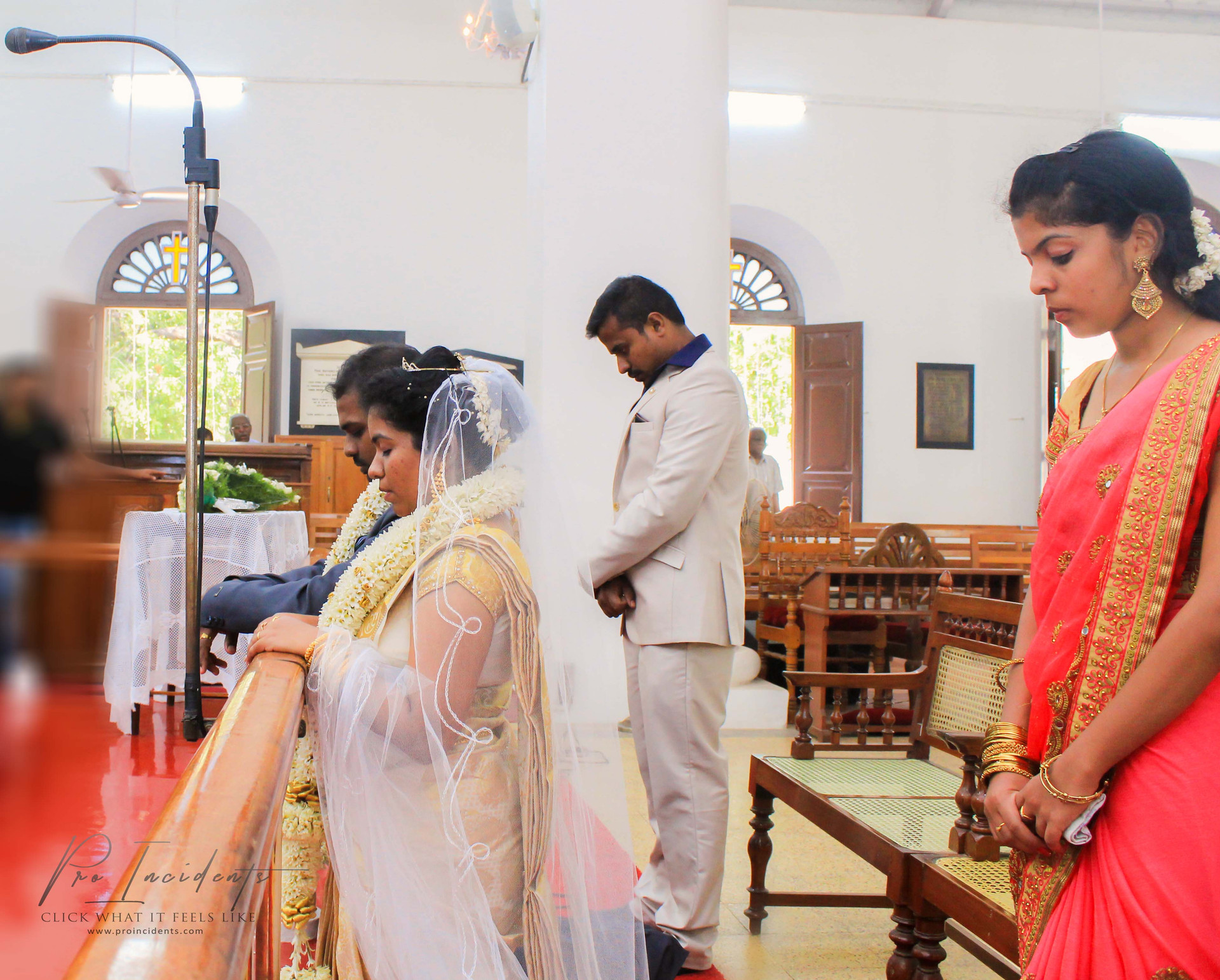 CSI Weddings Candid Pictures Nagercoil Home church