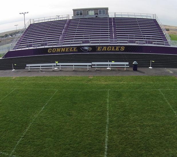 Connell High School Grandstands