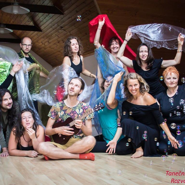 Víkend plný pohody, tance a tvorby - Mirka Papajíková