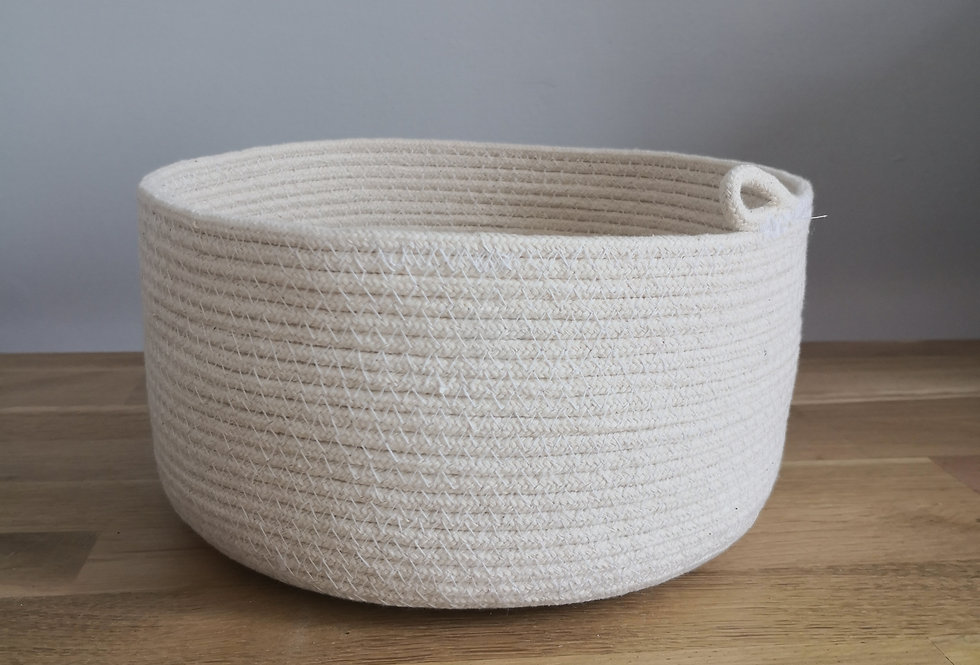 Panier 100% coton (taille M)