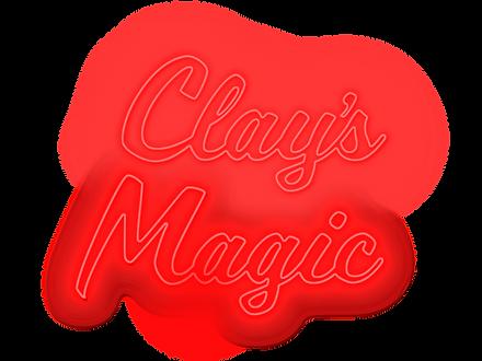 Magician Clay Skaggs's logo