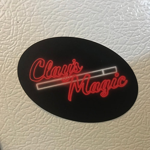 Clay's Magic Sticker