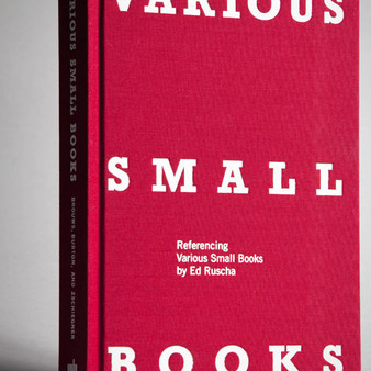 Brouws, Burton, Zschiegner : VARIOUS SMALL BOOKS