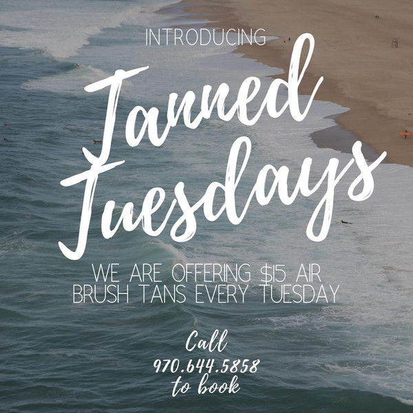 Tanned Tuesdays