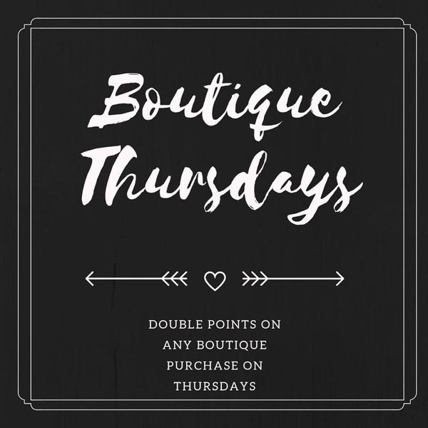 Boutique Thursdays