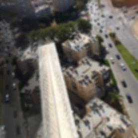 הרחקת יונים גג בנין