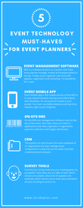 5 event technology must haves