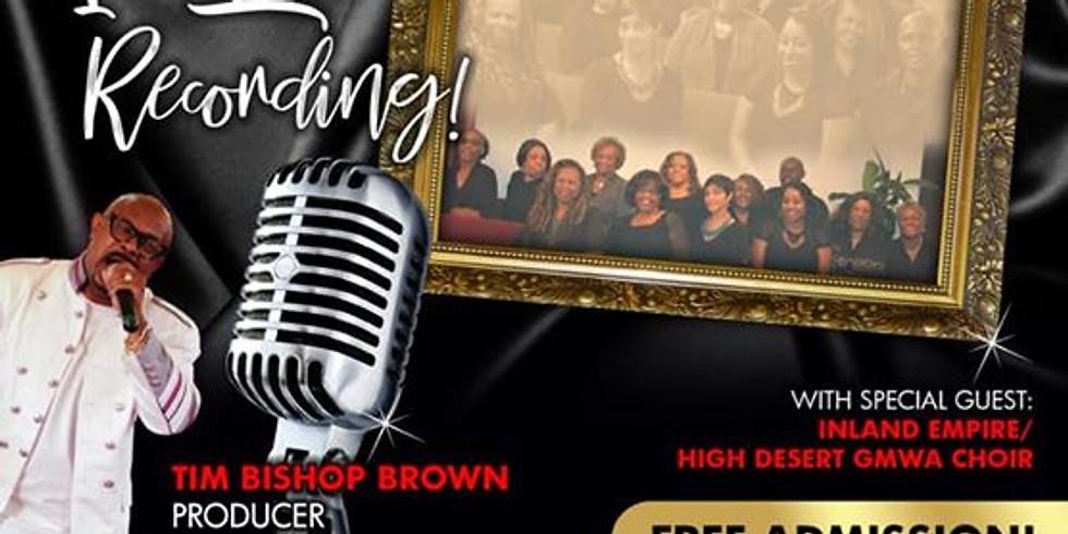 "Inland Empire Fellowship Community Choir's 1st ""LIVE"" recording"